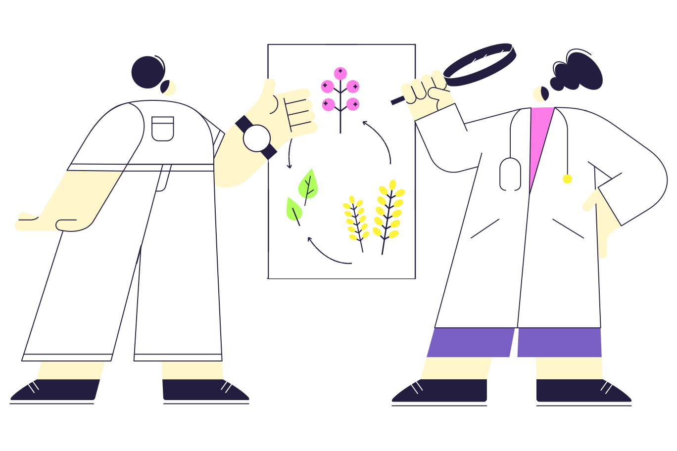 style Scientific discussion Vector images in PNG and SVG | Icons8 Illustrations