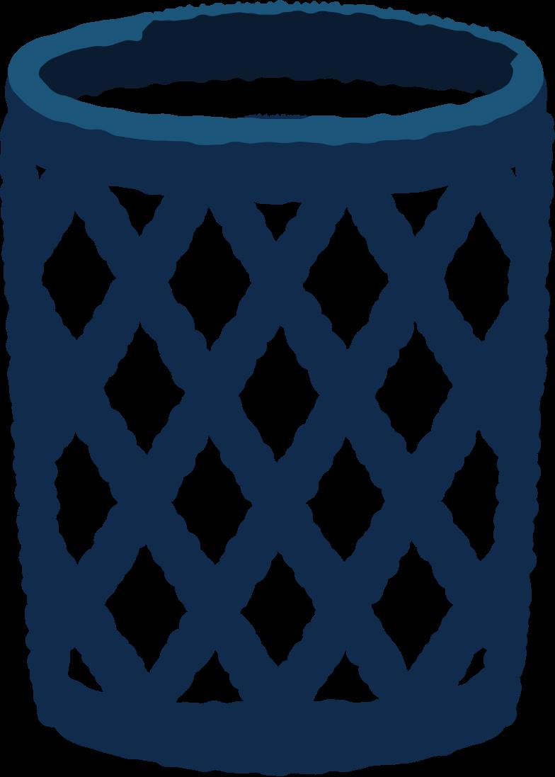 trash bin Clipart illustration in PNG, SVG