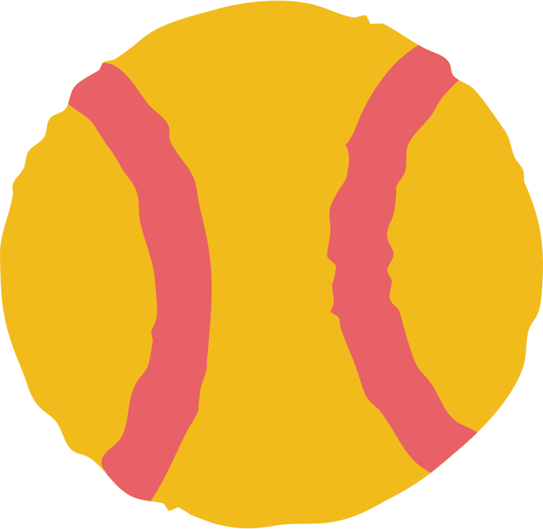 baseball Clipart illustration in PNG, SVG