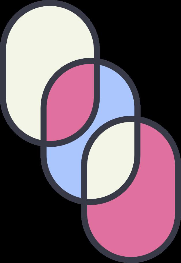 ovals Clipart illustration in PNG, SVG