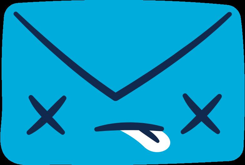 dead letter message Clipart illustration in PNG, SVG