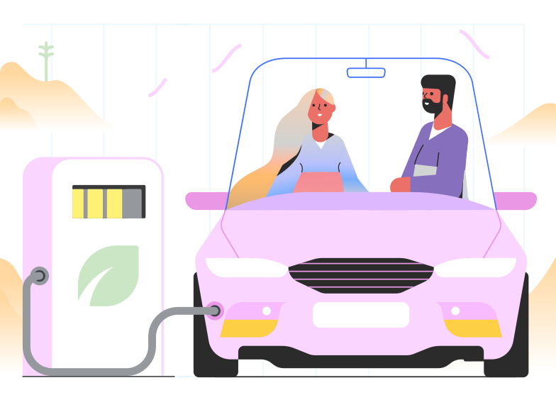Eco fuel Clipart illustration in PNG, SVG