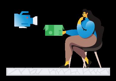 Иллюстрация Блог распаковка в стиле  в PNG и SVG | Icons8 Иллюстрации