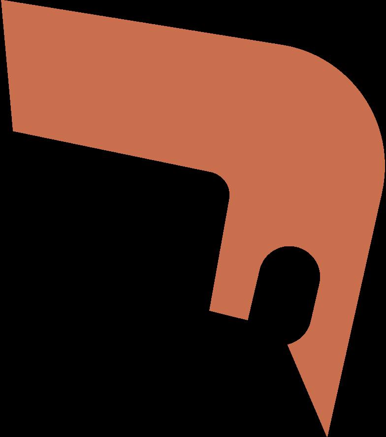 short sharp hair front Clipart illustration in PNG, SVG