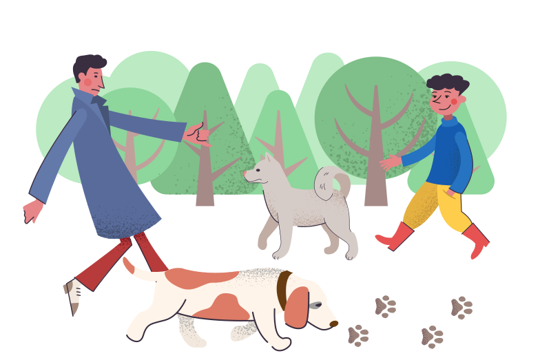 style Dog park Vector images in PNG and SVG | Icons8 Illustrations