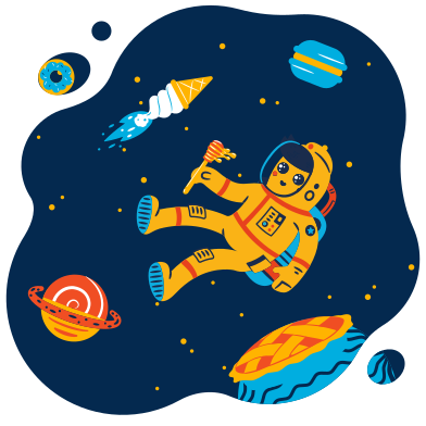 style Galaxy of sweets images in PNG and SVG | Icons8 Illustrations