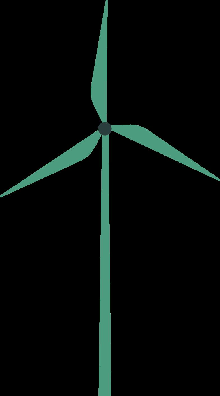 wind turbine Clipart illustration in PNG, SVG