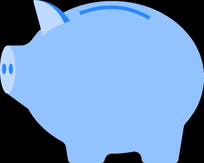 piggy bank Illustrazione clipart in PNG, SVG