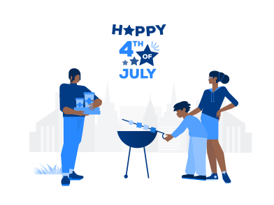 style Happy 4th of July! images in PNG and SVG | Icons8 Illustrations