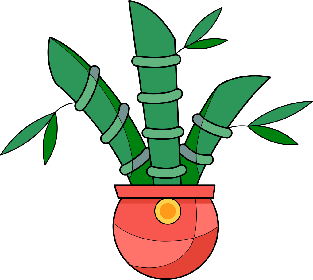 bamboo Clipart illustration in PNG, SVG