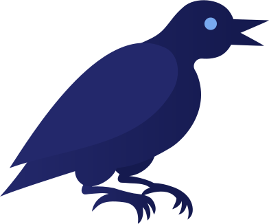 style black raven images in PNG and SVG | Icons8 Illustrations