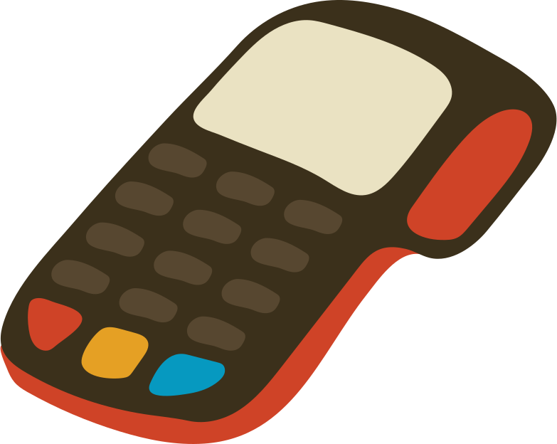 pos terminal Clipart illustration in PNG, SVG