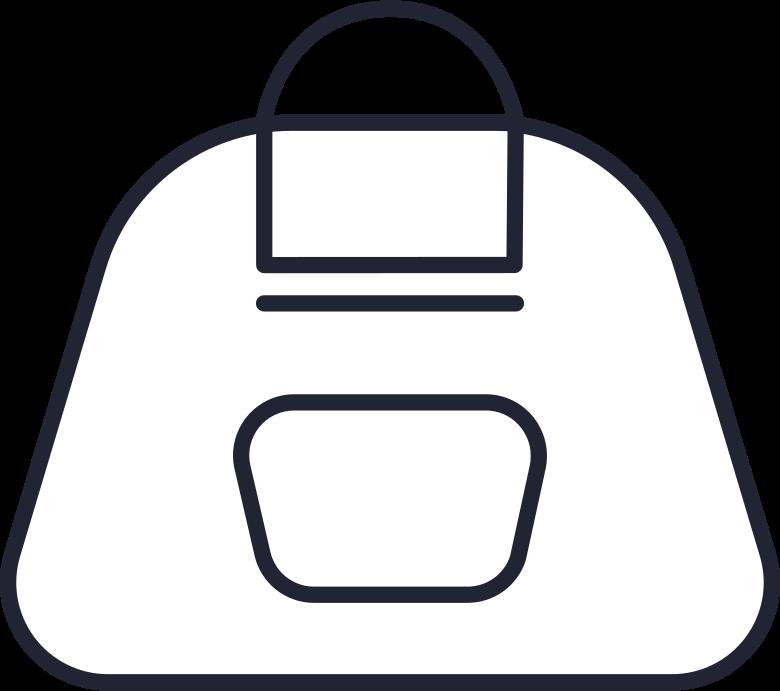 fashion  backpack Clipart-Grafik als PNG, SVG