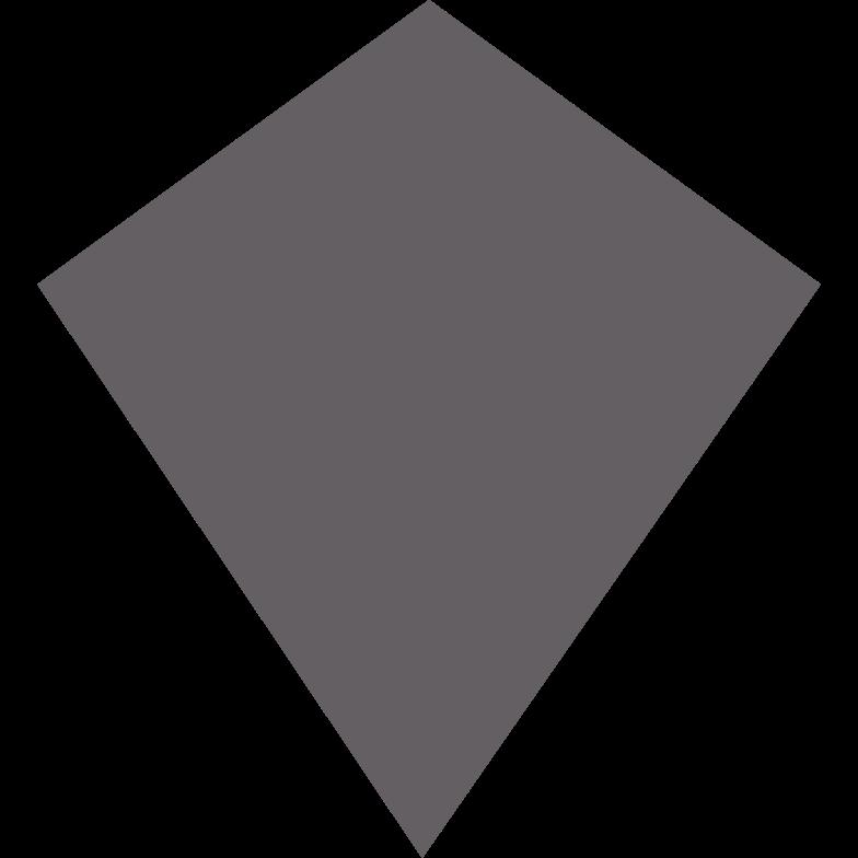 kite grey Clipart illustration in PNG, SVG