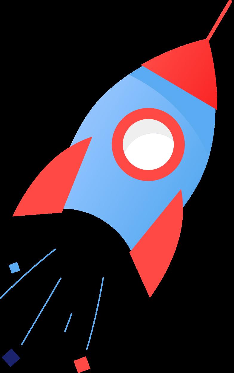 rocket Clipart-Grafik als PNG, SVG