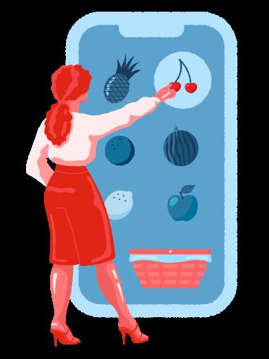 Imágenes de Las compras en línea estilo  en PNG y SVG | Ilustraciones Icons8