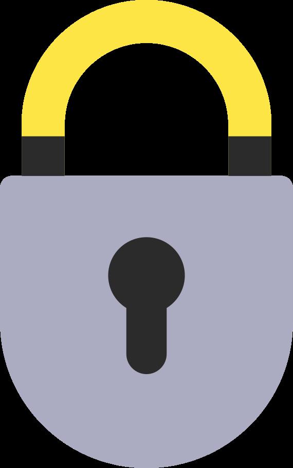 locked Clipart illustration in PNG, SVG