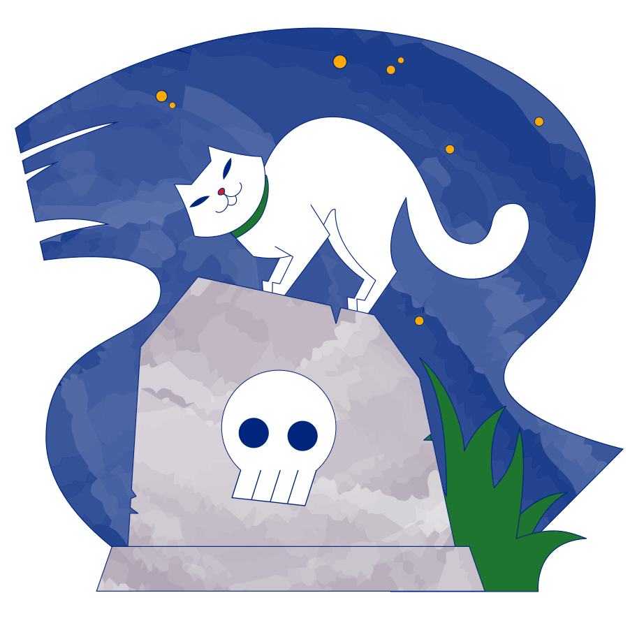 style Cemetery night Vector images in PNG and SVG | Icons8 Illustrations