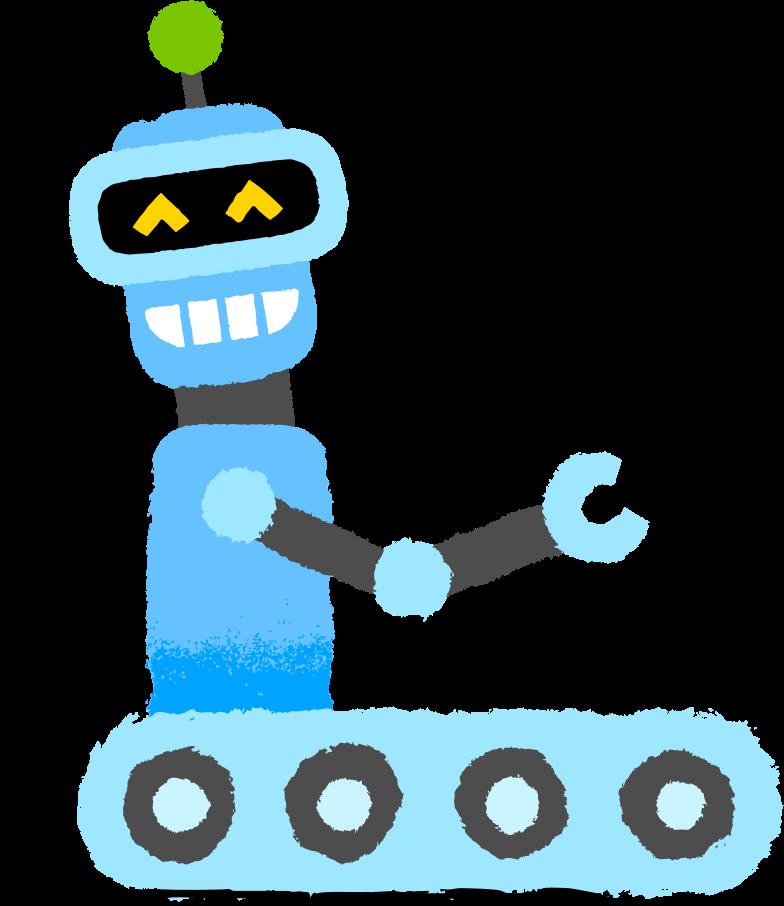ロボット のPNG、SVGクリップアートイラスト