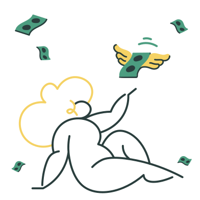 style Money rain images in PNG and SVG | Icons8 Illustrations