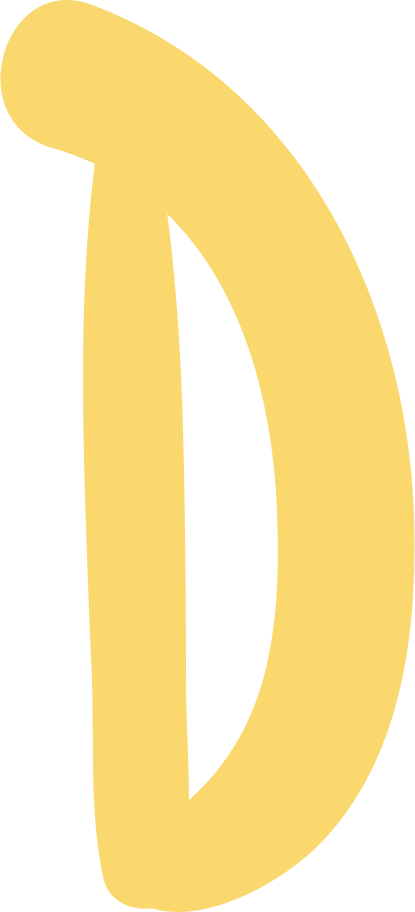 d letter Clipart illustration in PNG, SVG