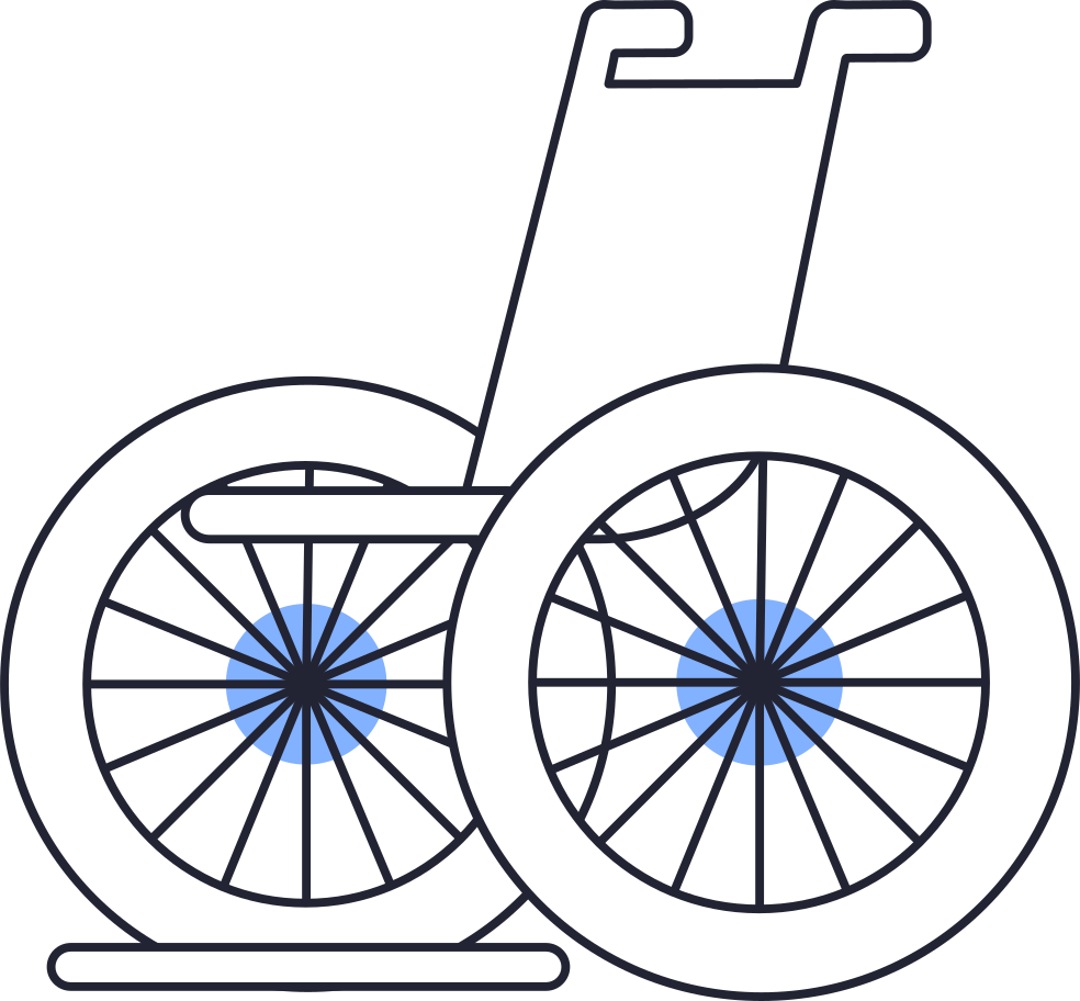 style wheelchair Vector images in PNG and SVG   Icons8 Illustrations