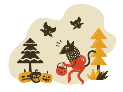 style Halloween activities images in PNG and SVG | Icons8 Illustrations