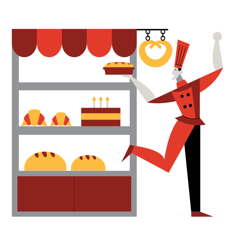 Fresh bakery Clipart illustration in PNG, SVG