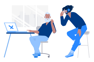 style Tech support images in PNG and SVG | Icons8 Illustrations
