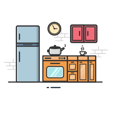 style Kitchen images in PNG and SVG | Icons8 Illustrations