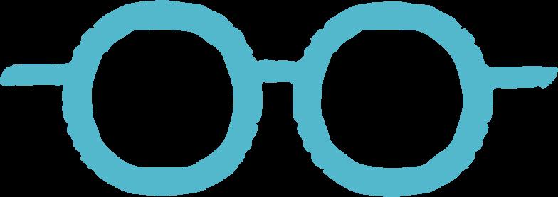 glasses Clipart illustration in PNG, SVG