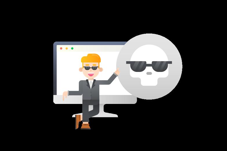 Imagens vetoriais de Dark web, serviço de segurança na web no estilo  em PNG e SVG | Ilustrações do Icons8