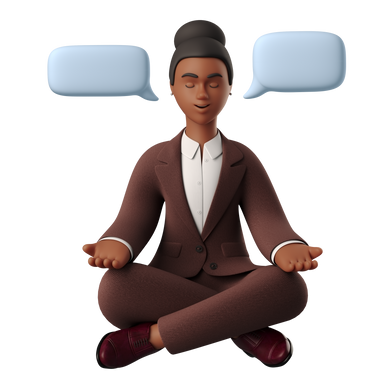 style Woman in meditation images in PNG and SVG | Icons8 Illustrations