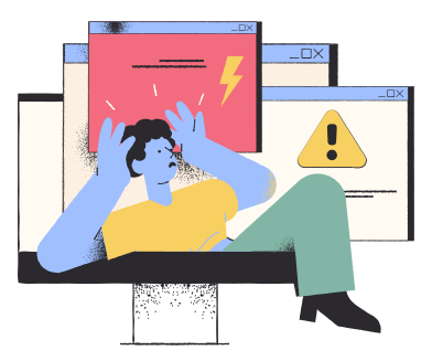 style Prohibited content images in PNG and SVG | Icons8 Illustrations
