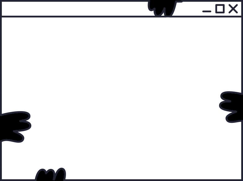 website crop Clipart illustration in PNG, SVG