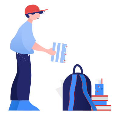 style Preparing for school images in PNG and SVG | Icons8 Illustrations
