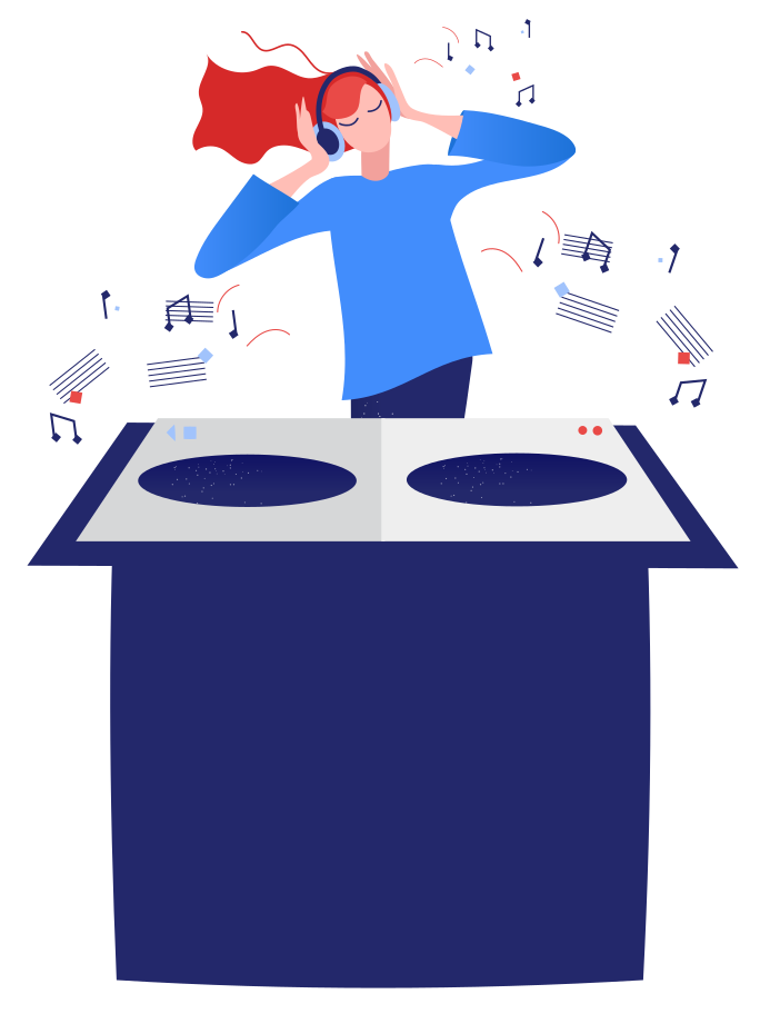 style DJ Vector images in PNG and SVG | Icons8 Illustrations