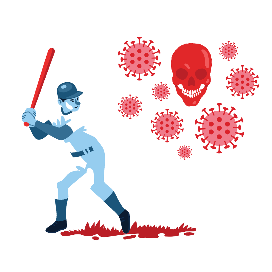 style COVID-19 baseball Vector images in PNG and SVG | Icons8 Illustrations