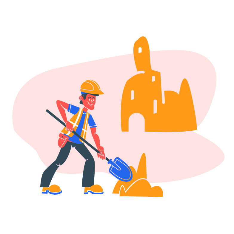Construction worker Clipart illustration in PNG, SVG
