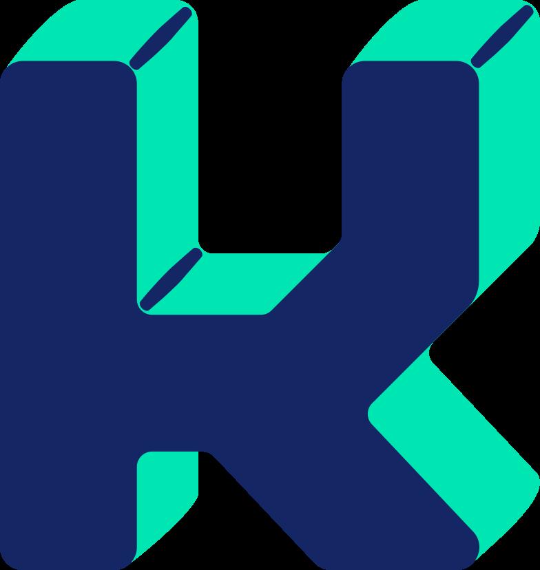 letter k Clipart illustration in PNG, SVG