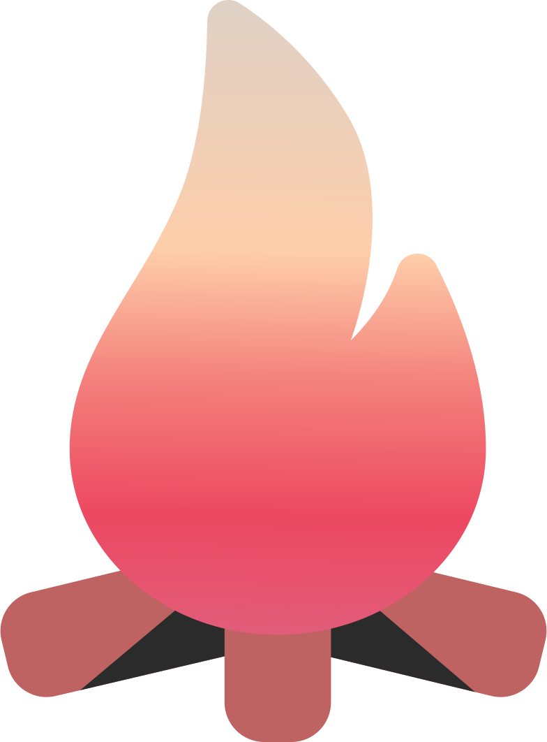 campfire Clipart illustration in PNG, SVG