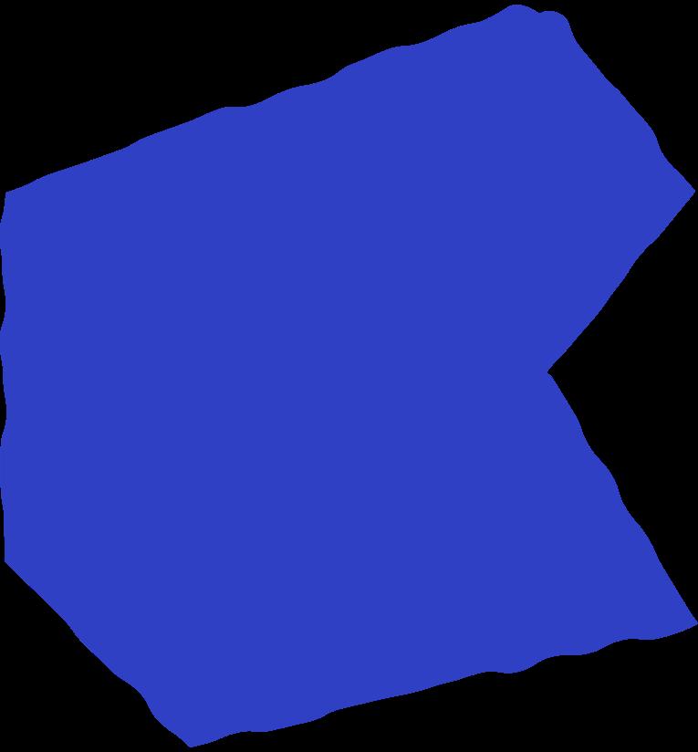 polygon blue Clipart illustration in PNG, SVG