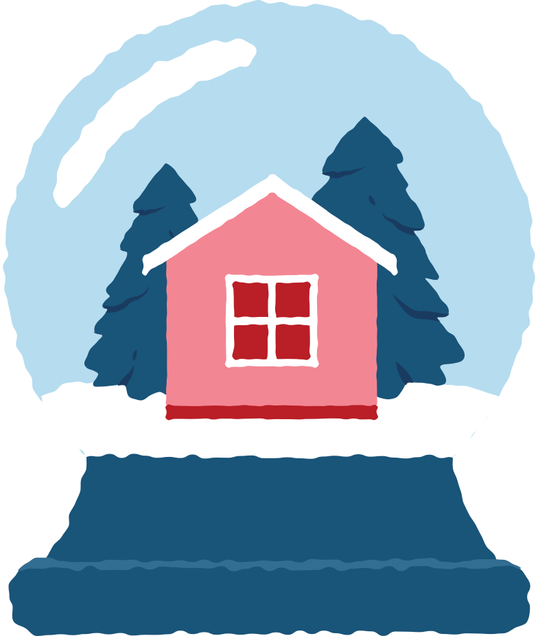 snow globe Clipart illustration in PNG, SVG