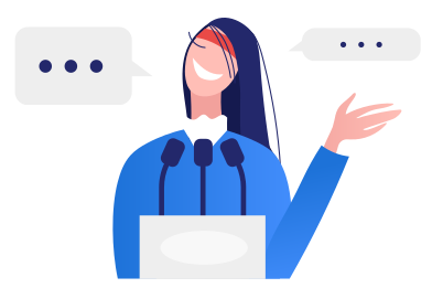 style Public speech images in PNG and SVG | Icons8 Illustrations