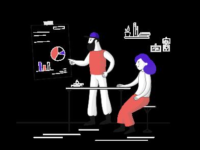 Иллюстрация обучение в стиле  в PNG и SVG | Icons8 Иллюстрации