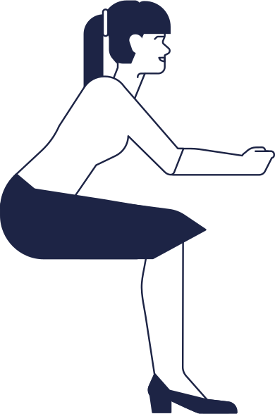 style woman sitting at a table images in PNG and SVG | Icons8 Illustrations