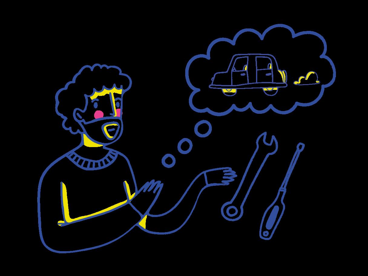 Mechanic Clipart illustration in PNG, SVG