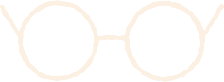 glasses front view Clipart illustration in PNG, SVG