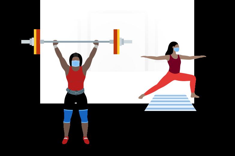 Safe sport Clipart illustration in PNG, SVG