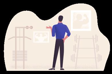 Imágenes de en el gimnasio estilo  en PNG y SVG | Ilustraciones Icons8